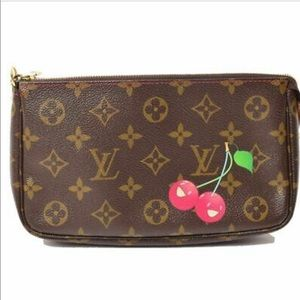 Louis Vuitton monogram cherry pouch